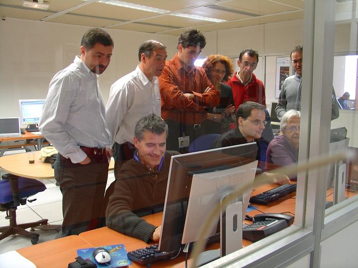Centre opérationnel des missions scientifiques. Crédits : CNES