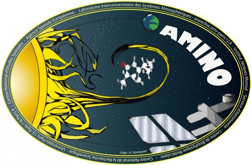 AMINO experiment logo. Credits: A. Sénéquier.