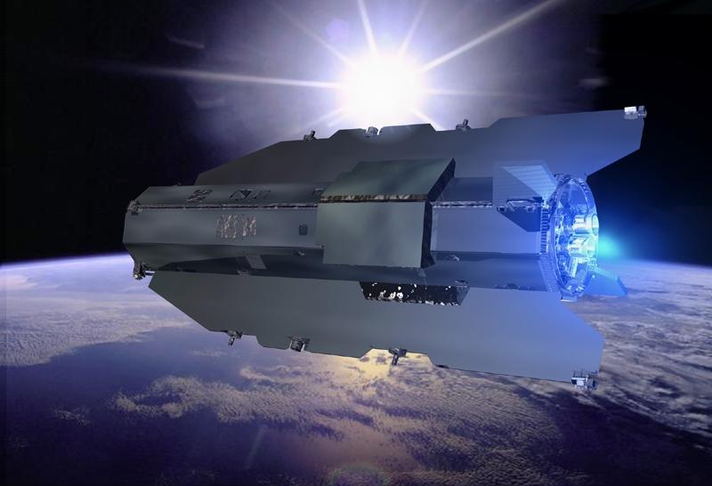 GOCE will orbit at an altitude of just 260 km. Credits: ESA/Ill