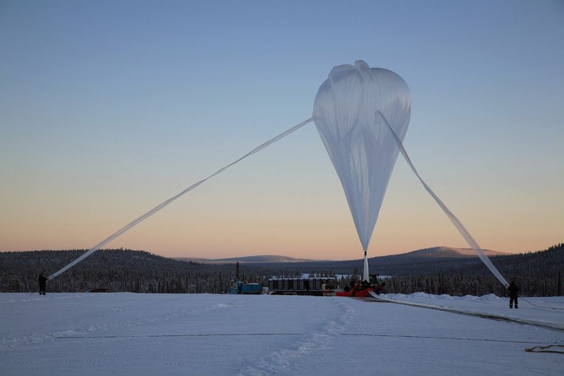 6 vols scientifiques sont prévus cette année à Kiruna. Crédits : CNES/A. DERAMECOURT.
