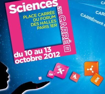 Fête de la Science 2012 au Froum des halles, à Paris. Crédits : Fête de la Science 2012.